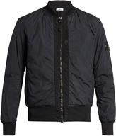 Stone Island Crinkle-effect bomber jacket