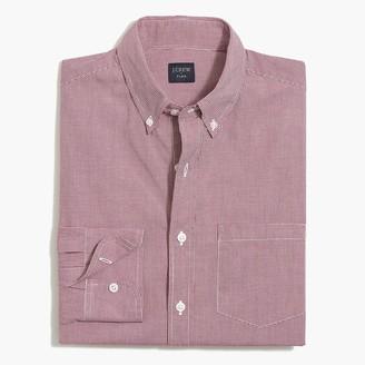 J.Crew Gingham tall flex casual shirt