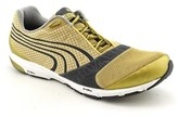 Puma Ignite Men Round Toe Synthetic Gold Running Shoe.