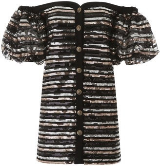 Philosophy di Lorenzo Serafini Sequins Mini Dress