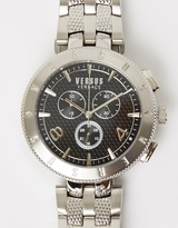 Versace Logo 44mm Chronograph