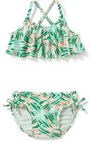 Old Navy 2-Piece Palm-Print Bikini for Toddler