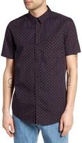 Globe Men's Florette Print Woven Shirt