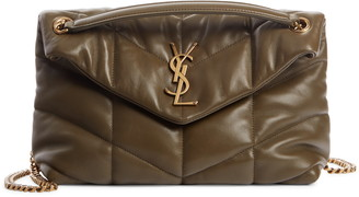 Saint Laurent Toy Loulou Puffer Quilted Leather Crossbody Bag