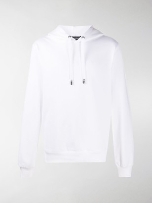 Dolce & Gabbana Embroidered Logo Hooded Sweatshirt