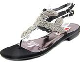 Two Lips Rachel Women Open Toe Canvas Sandals.