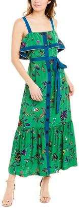 Derek Lam 10 Crosby Silk Maxi Dress