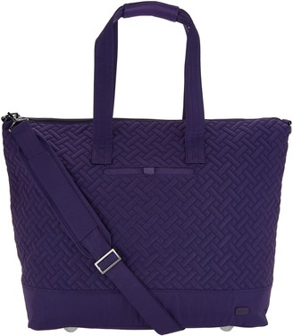 Lug Quilted Travel Tote - Aerial 2