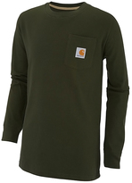 Carhartt Olive Deer Pocket Tee - Boys