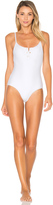 Tavik Lila One Piece Swimsuit