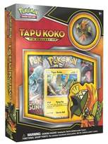 Pokemon 2017 Trading Card Tapu Koko Pin Collection