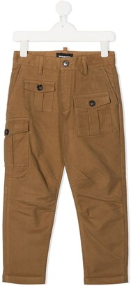 DSQUARED2 Multi-Pocket Tapered Trousers