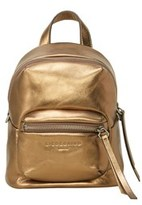 Liebeskind Berlin Jessi Metallic Leather Mini Backpack.