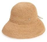 Helen Kaminski Women's 'Provence' Packable Raffia Hat - Grey