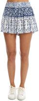 Sea Micro Pleated Shorts