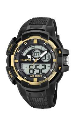 Calypso Watches Watches Unisex Adult Analogue-Digital Quartz Watch with Plastic Strap K5767/4