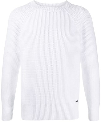 DSQUARED2 Ribbed Crew-Neck Sweater