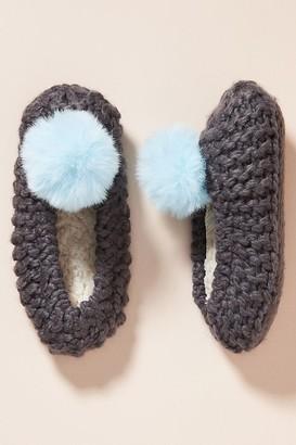 Pom Sock Slippers