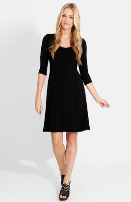 Karen Kane A-Line Jersey Dress