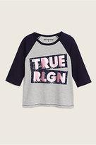 True Religion Ls Raglan Kids Tee