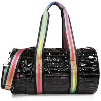 Think Royln Pride Patent Quilted Duffel Bag