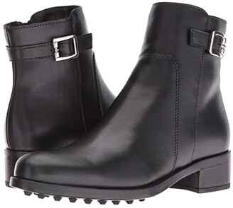 La Canadienne Shelby (Black Leather) Women's Boots