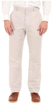 Perry Ellis Linen Suit Pants (Bright White) Men's Casual Pants