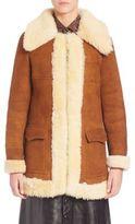 Saint Laurent Vintage Shearling Coat