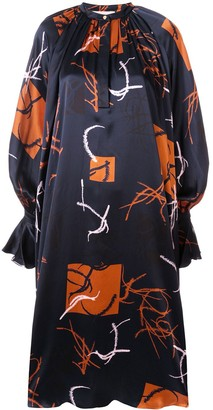 Roksanda All-Over Print Dress