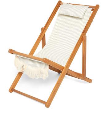 Business & Pleasure Premium Fringed Canvas Sling Chair