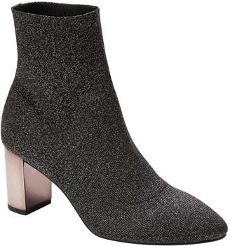 Banana Republic Metallic Sock Boot