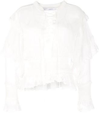 IRO Tilos lace blouse