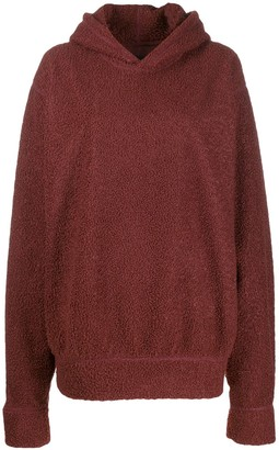Styland Oversized Shearling Hoodie