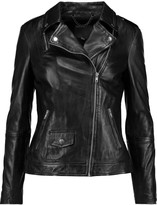 Muu Baa Muubaa Sadeo leather biker jacket