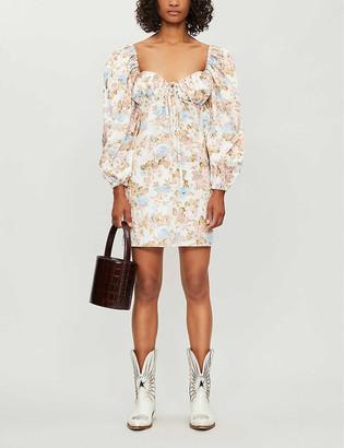 Olivia Rose The Label Shirley floral-print cotton mini dress