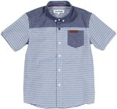 Ben Sherman S/S Shirt (Toddler/Kid) - Oxford-14/15 Years