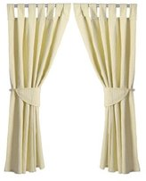 Baby Elegance Star Ted Curtains and Tabs (Cream) by Baby Elegance