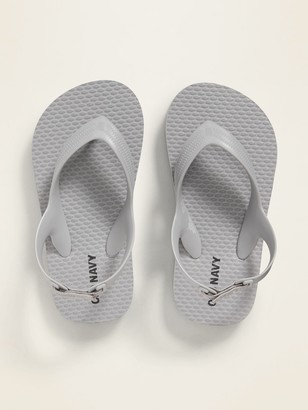 Old Navy Solid-Color Flip-Flops for Toddler