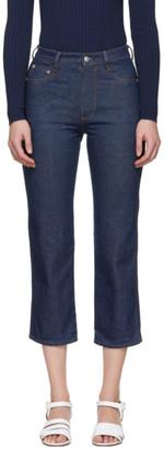 Simon Miller Indigo Skinny Crop Jeans