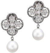Jarin K Jewelry - Classic Clover and Pearl Clip Earrings