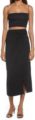 Reformation Baxter Top & Midi Skirt