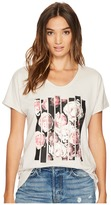 Converse Blocked Floral Type Femme Tee Women's T Shirt
