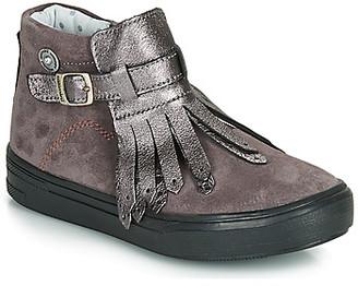 Catimini RUTABAGA girls's Mid Boots in Grey