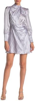 Kate Spade Pearl Drops Print Silk Dress