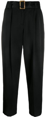 Pt01 Belted Cropped Trousers