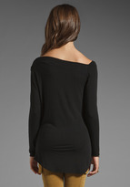 Riller & Fount Natalie Asymmetrical Top