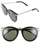 Karen Walker Women's Alternative Fit Harvest 59Mm Retro Sunglasses - Black