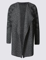 Marks and Spencer Textured Waterfall Cardigan