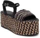 Schutz Clari Platform Espadrille Sandal