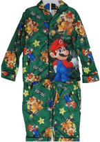 Super Mario Big Boys Cartoon Inspired 2 Pc Pajama Set